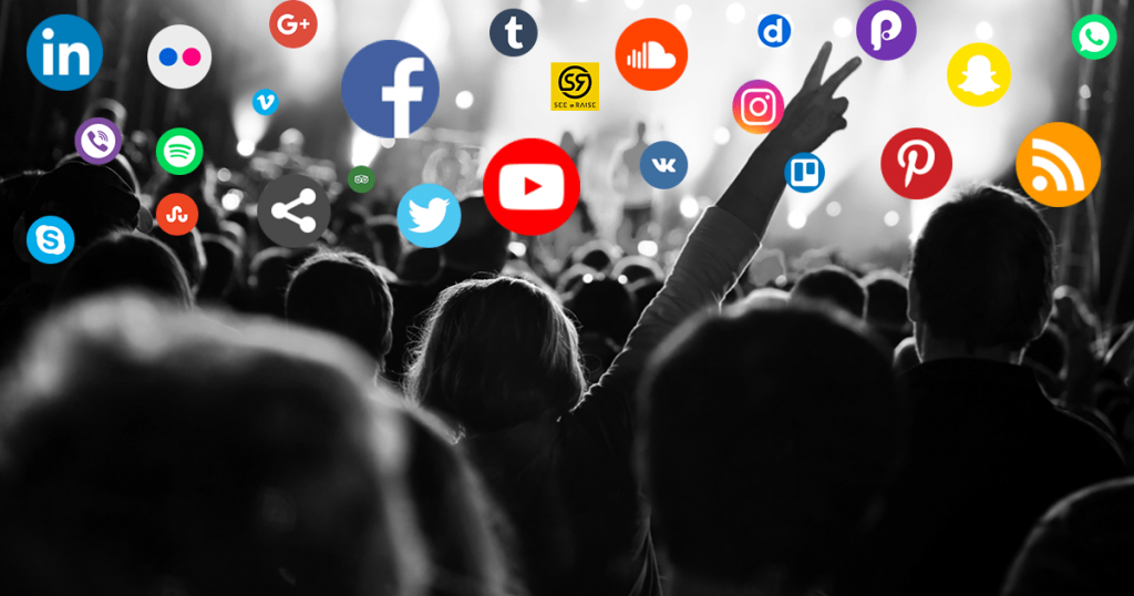 Does Music Marketing have LIVING LIVES on Social Media