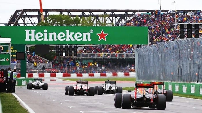 Heineken carries Formula One racing to Asia