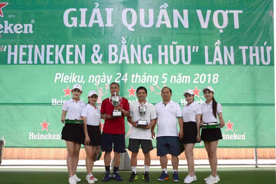 "Tennis Championship ""Heineken and Friends"" Gia Lai 1st"