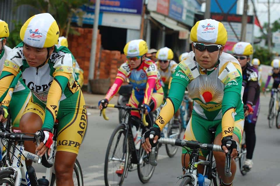 Tan Hiep Phat-17 years of association with the An Giang women's bicycle race